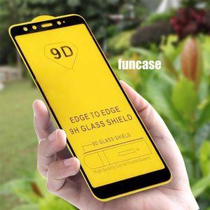 9D Voll Kleber Ausgeglichenes Glas Curved-Film-Abdeckung Schirm-Schutz für LG Stylo 6 Q61 Q70 K31 K51 K61 K41S K51S K40S K50S Airsto 5 Plus Fortun 3