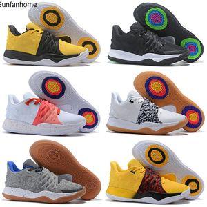 Sport Basket Nakeskin Mens bambini Kyrie IV taglio basso scarpe da basket Irving 4 Mens Trainers Sneakers uomoGiordaniaretros Sneaker