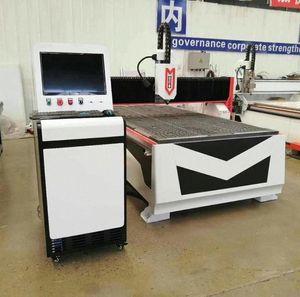 Günstige 1325 CNC Holzschnitzerei Maschine factpry Versorgung / CNC-Fräser für Metall Aluminium / Möbel-Fräsmaschine kvNd #