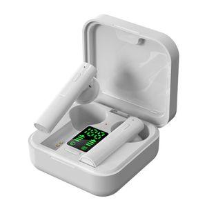 Frete grátis carregador solar Fone de ouvido Bluetooth air6 mais TWS Bluetooth Headphone in-ear fones de ouvido bluetooth sem fio com display LED
