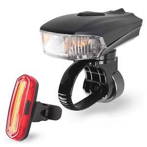 400 Lumen inteligente Estrada Bike Light USB frontal de indução para bicicleta MTB bicicleta traseiro Luzes LED Kit