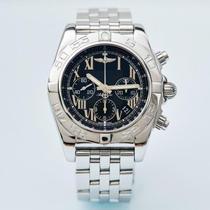 Breitling mens nuevos diseñador de relojes piloto Chronomat B01 cronógrafo de 42 mm de la moda sinuoso movimiento mecánico ABO hombres de acero inoxidable relojes 1jvJ #