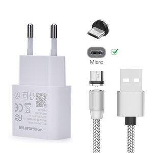 Magnetic Micro USB Magnet Charge Cable For Huawei P Smart Y5 Y6 2018 Y7 Prime 2019 8X Honor 9 lite 7A Phone Wall Fast charger