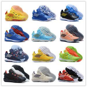 2020 zapatos de los nuevos hombres Damian Lillard VI Dame 6 Deportes Baloncesto por su alta calidad loco BYW VIP Negro Rojo Blanco Deportes zapatillas de deporte de Estados Unidos 40-46