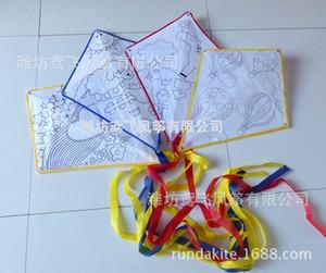 DIY children's painting Diy Diamond Painting Diamond kite education kite environmental protection material a variety of patterns