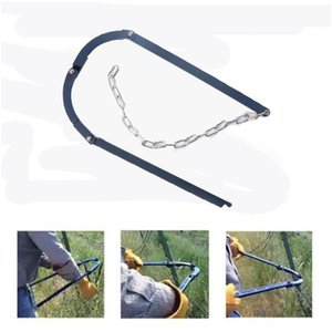 Chain Fence Strainer Manual Patch Electric Fence Fixer Stretcher Home Garden Kit 40JA hDG0#