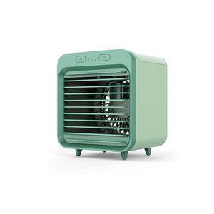 Aire acondicionado portátil USB enfriado por agua de refrigeración de escritorio recargable de viajes ventilador enfriador de aire para el hogar al aire libre Accesorios para el coche