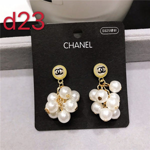Have stamps fashion letter bee hoop diamond stud earrings aretes for lady mens