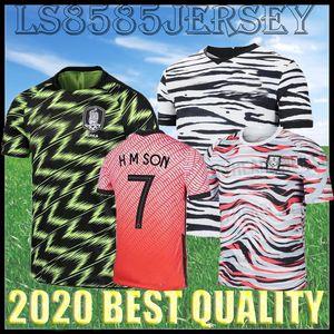 2020 Sur de distancia Fútbol COREA casa 2021 hijo de 7 SON HUN KWON LEE KIM Ho Son HYUNG KIM 20 21 camiseta de fútbol de calidad camisas de Tailandia
