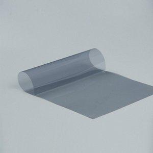 Parabrisas 2mil catódica Solar Tint película adhesiva auto del coche de la etiqueta engomada 59.84x393.7 65% VLT 99% Rechazo UV gris Tinte de Cine MFAA #