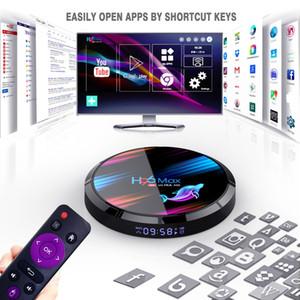 H96 MAX X3 Android 9.0 TV BOX Amlogic S905X3 4GB 32GB 2.4GHz 5GHz Dual Wifi Bluetooth 8K Set top Box