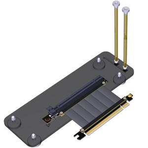 PCIE 3.0 16X بطاقة الرسومات عمودي Kickstand لقاعدة القوس ث PCIE الناهض تمديد كابلات R33SQ لDIY ATX حالة الهيكل