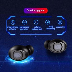 Original V12 TWS Bluetooth Headphones 9D Stereo Wireless Earphones IPX7 Waterproof Headsets With Mic 4000mAh Charging Box For Smartphone