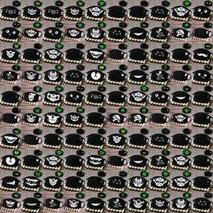 Breath Grimasse Halbmaske Schädel Glow Skeleton Gesicht Breath Grimasse Fashionmia Verkauf Schönheit und beste Schnelle Lieferung lfmFN Maske Lächeln