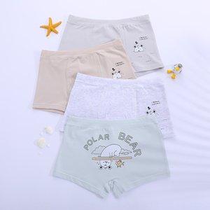 vTSVs Love dream 50 pure cotton tong nei ku tong nei ku children's children's underpants bear boy boxer underpants Big Boy Four Corners 3-12