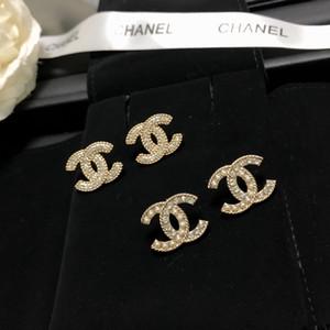 concepteur boucle d'oreille avec perle et forme creuse pour le cadeau vente à chaud des femmes mariage Boucles d'oreilles Mode de XX027