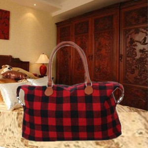 Tote Bags Red Weekender Checked Handbags Checkered Tote Plaid Buffalo Black Designer Leopard Print Travel Large Bag Bags Capacity CGY12 Jwhg