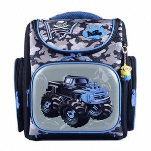 Delune Schultasche 2018 Kinder Rucksack Qualitäts-3D-Druck-Schule-Beutel für Jungen-Mädchen-Kind Taschen Primary Rucksäcke Pxbg #