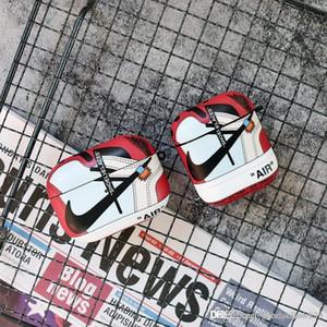 새로운 디자인 높은 품질의 신발 에어 팟 무선 블루투스 헤드셋 보호 럭셔리 디자이너 애플 AirPods 프로의 경우 포괄적 인 보호