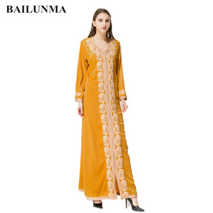 Fashion Appliques Beading muslim dress robe long turkish dresses dubai abaya islamic clothing