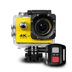 جديد RF 2.4 التحكم عن بعد 4K 30FPS Sport DV F60R 30M Waterproof Action Camera WiFi التحكم 2.0 '' عرض الرياضة كاميرا الجميلة التجزئة حزمة