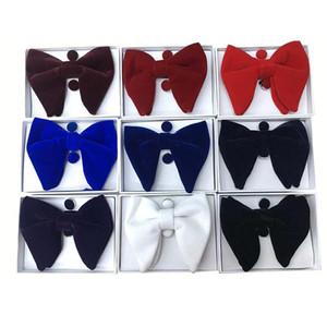 Mode d'impression haut de gamme pour ruban Bow Ties hommes costumes collier de mariage serviette de poche Boutons de Manchette Cravates Bow ensemble 3 pièces