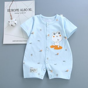 Rompers Letters Short Baby Sleeve Newborn Onesies Summer Cotton Toddler Romper Cute Infant Bodysuit Boutique Clothes