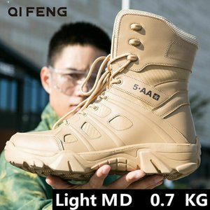 Quality Winter Hiking Boots Mens Ankle Boot Tactical Male Motocycle Light Footwear Outdoor Hunting Boots Outdoor Waterproof Trail Shoe