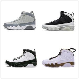 Toptan ucuz 9s Erkekler Basketbol Ayakkabı LA Antrasit Yayın baron Erkek Basketbol Ayakkabı Sneaker Boyutu 7-13 9s