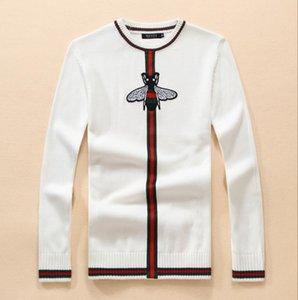 Letter Graffiti Knittwear Mens Sweaters Harajuku Hip Hop Tops 2019 Fashion Casual Male Pullovers Outwear Streetwear