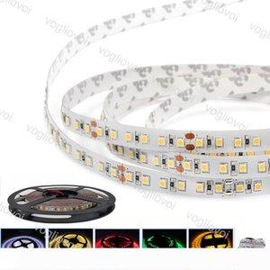 Luci nastro luce di striscia SMD2835 DC12V 600LED Round 2 fili LED flessibile per Tenda TV Auto Computer illuminazione DHL