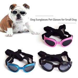 Dog Sunglasses Dog Goggles Pet Glasses UV Protection Sunglasses Adjustable Strap for Small Dog