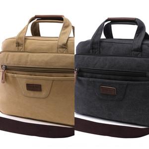 épaule ordinateur canevas messenger à la mode Ordinateur de mode porte-documents d'affaires sac Fashion Bag