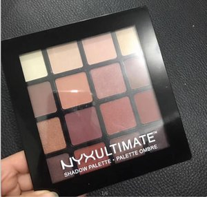 Top sale NYX ULTIMATE 16colors Eyeshadow Palette Ombre Eyeshadow Palettes Shimmer Matte Makeup Cosmetics palette Free DHL shipping