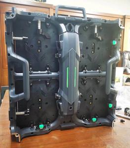 Connexion matérielle sur mesure P3.91 intérieur 500 * 500 * 80mm Affichage LED location mur vidéo LED