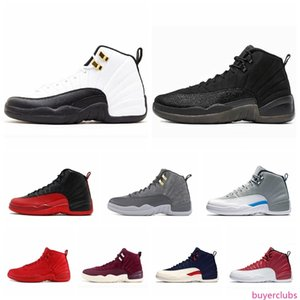 12 12s Basketball shoes for mens Winterized black WNTR Gym red Flu game GAMMA BLUE Taxi the master men Sports Sneakers size 8-13