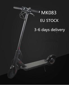 EU Stock Kostenloser Versand 3-6 Tage Lieferzeit, Kick-Folding Elektro-Scooter Wasserdichtes IP54 Cashewnüsse Elektroroller Moped Erwachsene Scooter CE