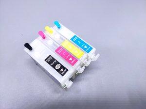 2sets / Lot T1301-1302-T1303-T1304 Перезаправляемые картридж с чернилами для Epson Stylus B42WD / BX525 / BX626 / BX635 / BX925 / Принтер SX525 / SX620 АРК