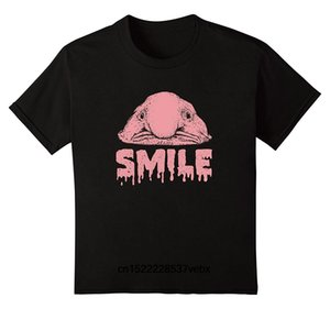 Blobfish улыбка Рыба футболка смешной