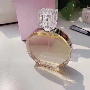 Kız Yüksek Kaliteli Su Lady Parfüm Deodorant Unisex C0C0 YOK 5 mavi Şans Lady Parfüm Cam şişe ong Kalıcı 100ML EDT EDP Sprey