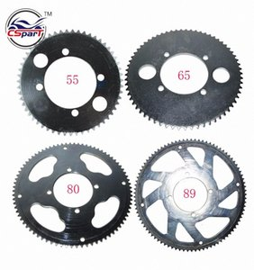 55 65 80 89 Tooth 55T 65T 80T 89T 25H 54MM Rear Sprocket For Razor EVO X-Treme IZIP E Gas Scooter Mini Moto GMmD#