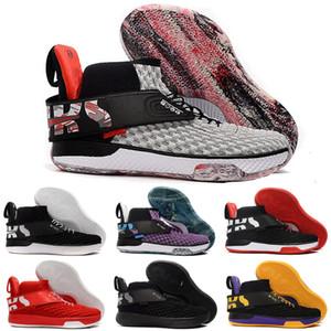 2020 nuovo arrivo UNVRS Wallace nero bianco rosso viola giallo Black Knight Pattini di pallacanestro per a buon mercato vendita sport del Mens Sneakers Trainers