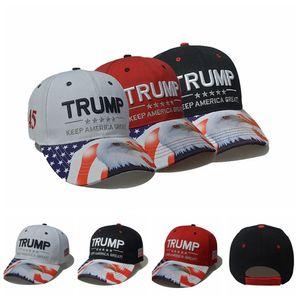 Donald Trump Eagle-Hut Stickerei Halten Sie Amerika Groß 2020 USA Wahl Baseball Kappen Einstellbare Breathaußen Snapback Cap LJJP162