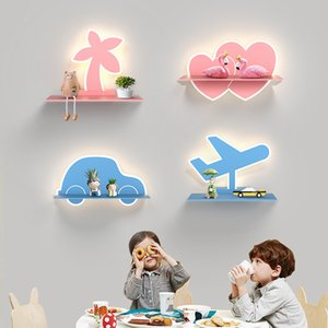 Modern Minimalist LED Wall Lamp Nordic Living Room Dining Room Mirror Lamp Bedroom Bedside Light Creative Children's Room led Eye Wall Light