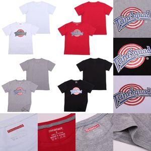 Space Jam T Shirt Tune Squad JERSEY Costume moive estate Mens teesTops grafiche Hip hop camice 100% cotone stampato