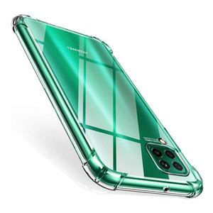 Şeffaf Yumuşak TPU Kılıf Huawei P30 P30 Lite P20 P10 Mate 30 20 10 Pro Cep Telefonu Kılıf Hava Yastık Koruyucu Arka Olaylar İçin