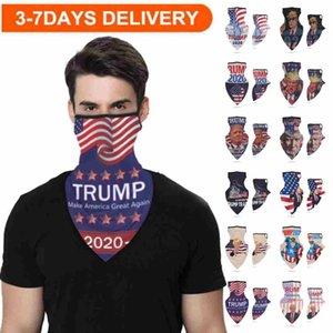 Envío libre de DHL 3-7days turbante protectores faciales Trump Pañuelos Pañuelos Bufanda de ciclo de múltiples funciones mágico protector solar Cap Riding banda FY6070