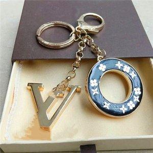 Delicate circular chaveiro carta múltipla bolsa pingente charme da moda principais acessórios do carro designer de chave cadeia cadeia