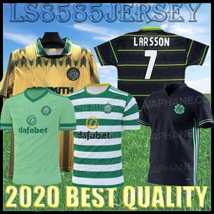 Retro 91 92 98 Top Quality 2020 2021 Glasgow Home Celtico Jersey di calcio McGregor Griffiths Roberts Uniform 20 21 Camicia calcio celtica