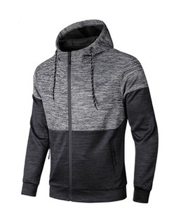 2020 Autumn Winter men's hoodie New Fashion Brand Man's Coat off gold and silver cool size L--5XL